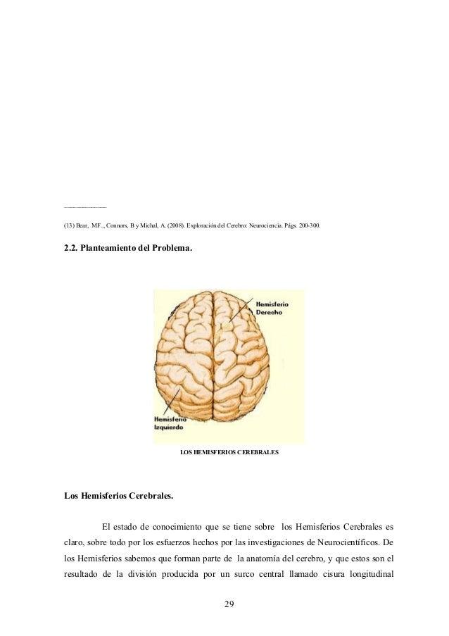 Investigación sobre los hemisferios cerebrales y la tecnología