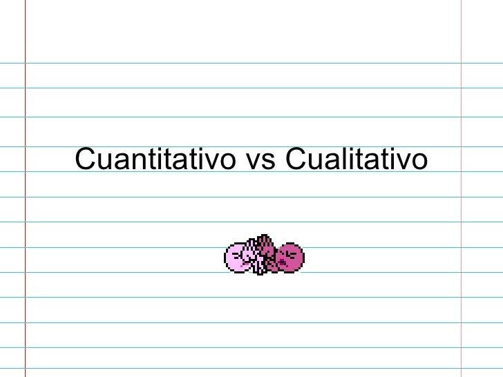 Técnicas de investigación cuantitativa y cualitativa