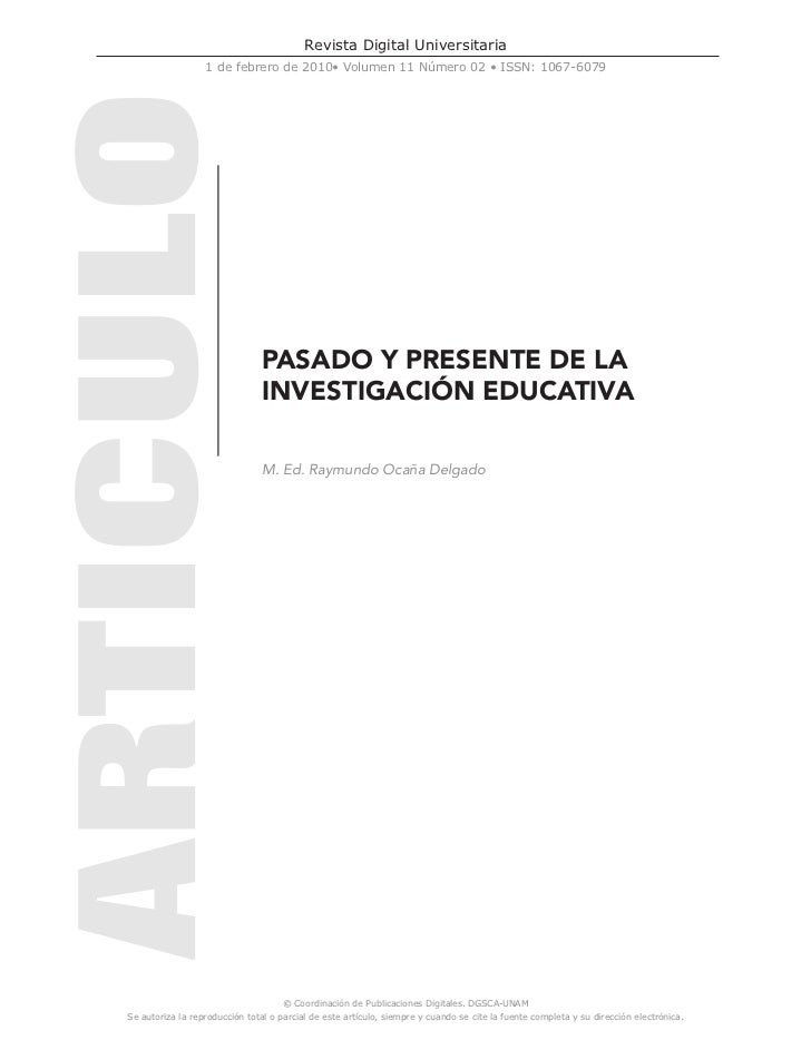 Revista Digital Universitaria                  1 de febrero de 2010• Volumen 11 Número 02 • ISSN: 1067-6079               ...