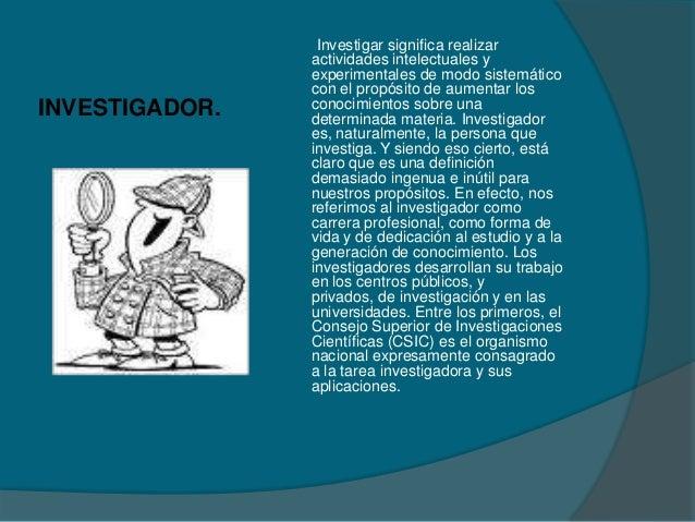 Investigacion cientifica Slide 2