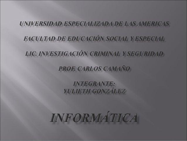  En este trabajo se especifican las diferentes especialidades de la carrera de investigación criminal y seguridad, su obj...
