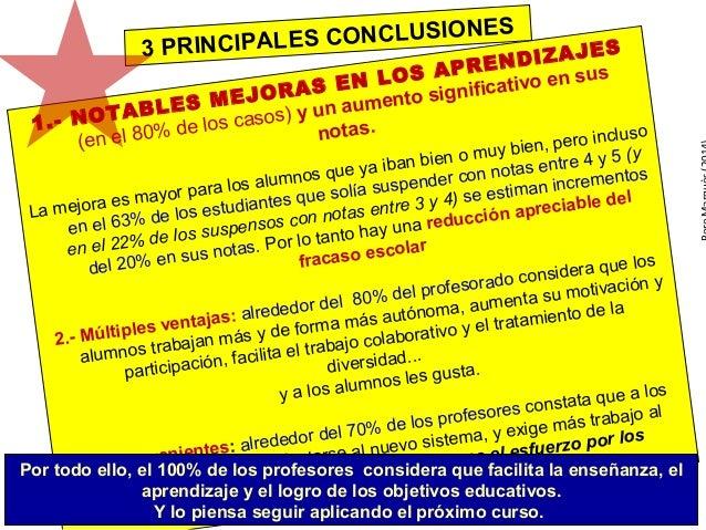 Bachillerato y FP: más éxito académico aplicando el curriculum bimodal  Slide 2