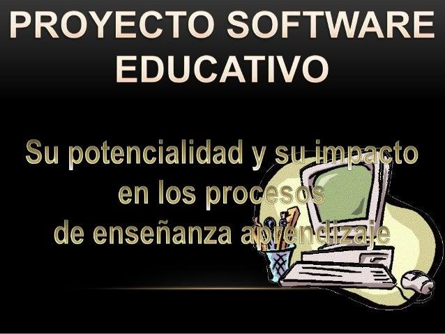 Identificar el software educativo, en el ejercicio profesional de los profesores.Identificar, crear y construir su perfi...