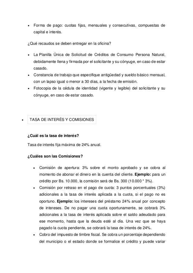 Planilla de solicitud de credito 48 horas banesco persona for Banco de venezuela solicitud de chequera