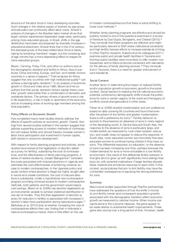 poverty and reproductive health Keywords: poverty reduction, reproductive health, population, research disclaimer : the findings, interpretations and conclusions expressed in the paper are entirely those of the authors, and do not represent the views of the world bank, its executive directors, or the.