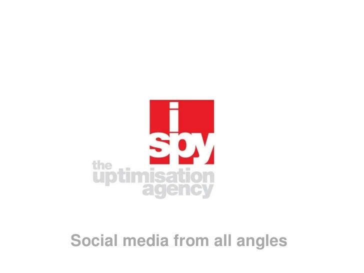 Social media from all angles