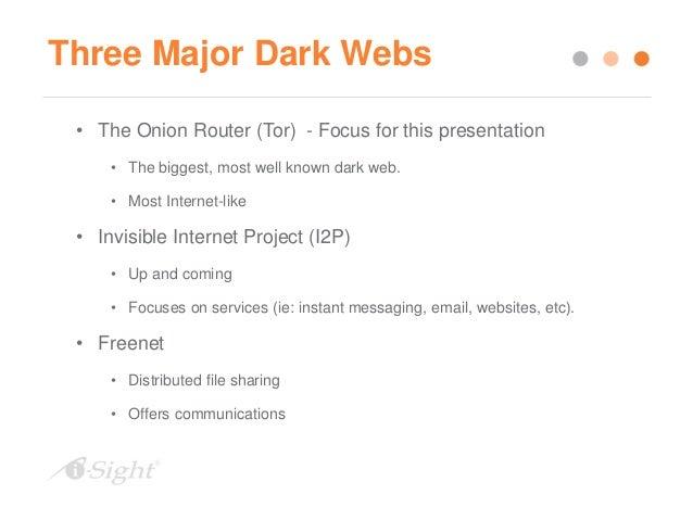 Investigating Using the Dark Web