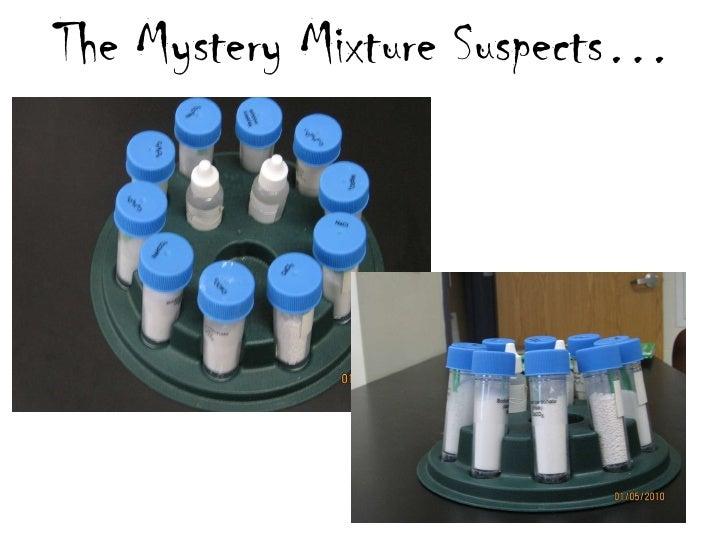 Investigation 1.2   white substance infor