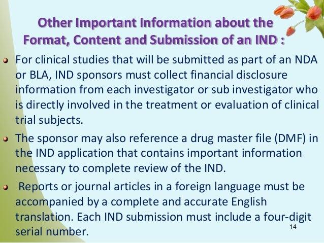 investigational innovative medication articles