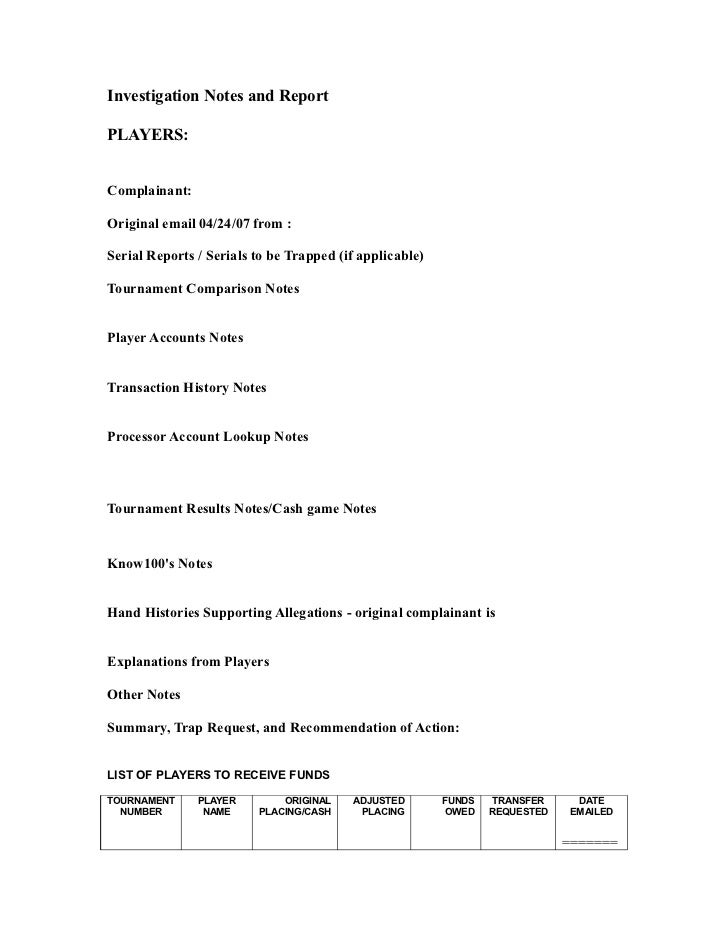 behavior notes home template