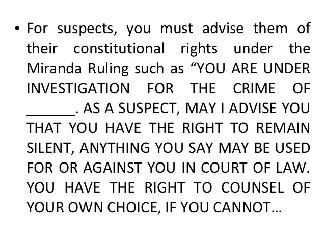 …. AFFORD THE SERVICES OF A PRIVATE COUNSEL, THE GOVERNMENT WILL PROVIDE ONE FOR YOU. DO YOU FULLY UNDERSTAND YOUR RIGHTS ...