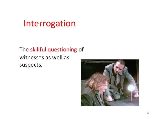 THREE-FOLD AIM OF INVESTIGATION • To identify the offender • To locate the offender • To provide evidence 38