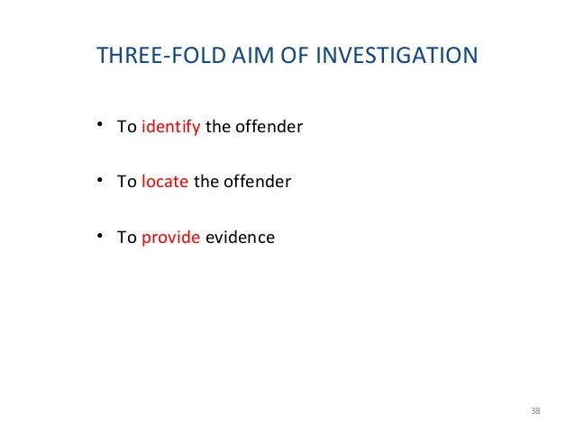 CHARACTERISTICS OF A SUCCESSFUL INVESTIGATOR • Observant • Resourceful • Patient • People-oriented • Understanding of huma...