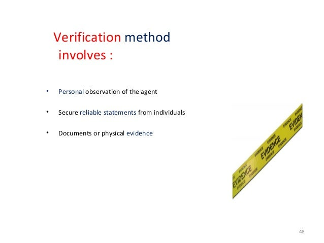 GUIDELINES IN AN INVESTIGATION 50