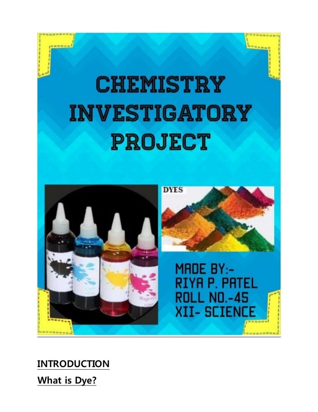 investigatory project Scientific research conducted by high school students this mini website are made to promote science and technology consciousness among the general public.