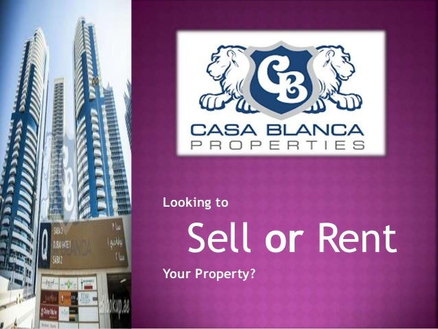 Looking to Sell or Rent Your Property?