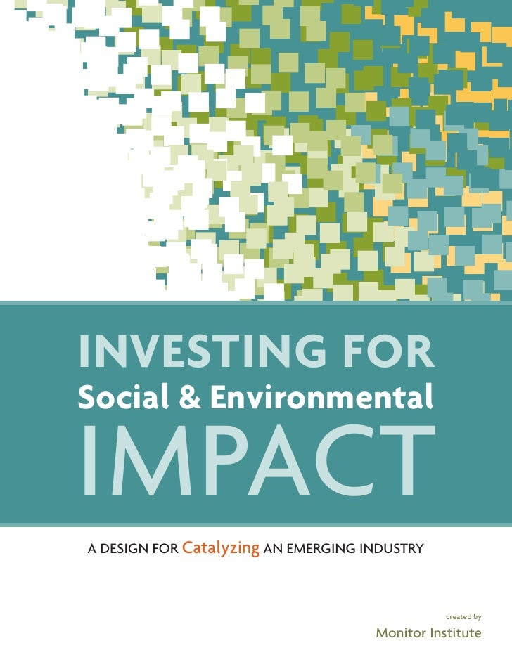 Investingfor Social Env Impact The Full Report