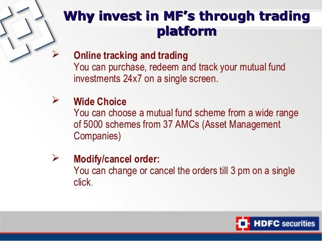 brace for online mutual fund investing