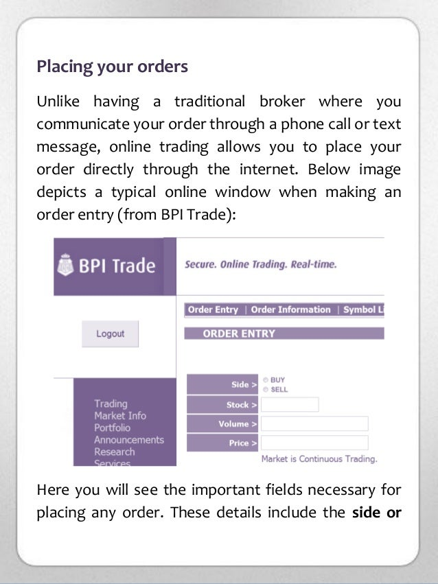 Investing In Philippine Stock Market For Beginners A Quick Start F