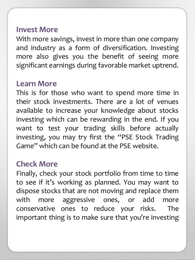 How To Start Investing In The Philippine Stock Market
