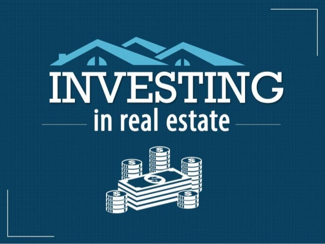Real estate investment is lucrative. It is an investment in an illiquid asset and the risks are high. You need to make som...