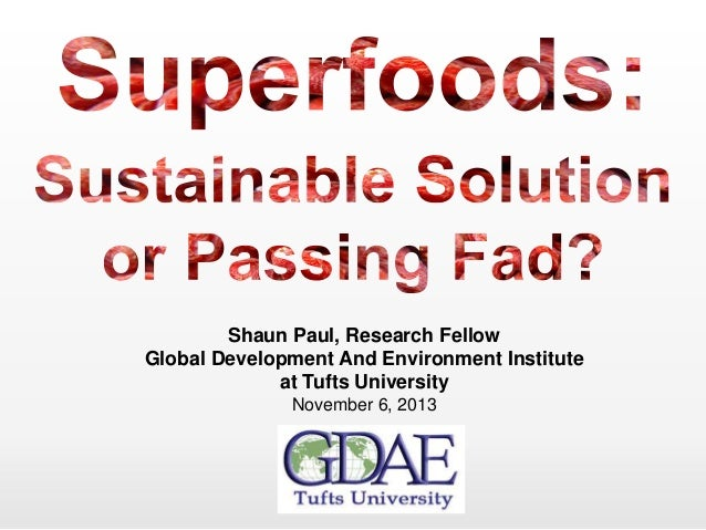 Shaun Paul, Research Fellow Global Development And Environment Institute at Tufts University November 6, 2013