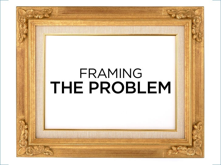 framing the probleminvesting timein people