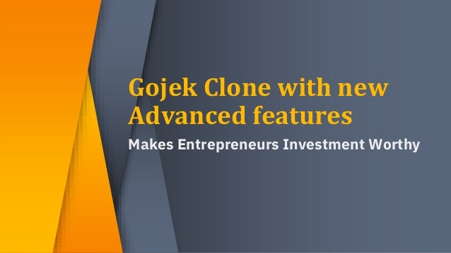 Invest in on demand gojek clone app with new features  Slide 2