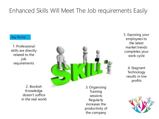 invest in your employees for desired skills