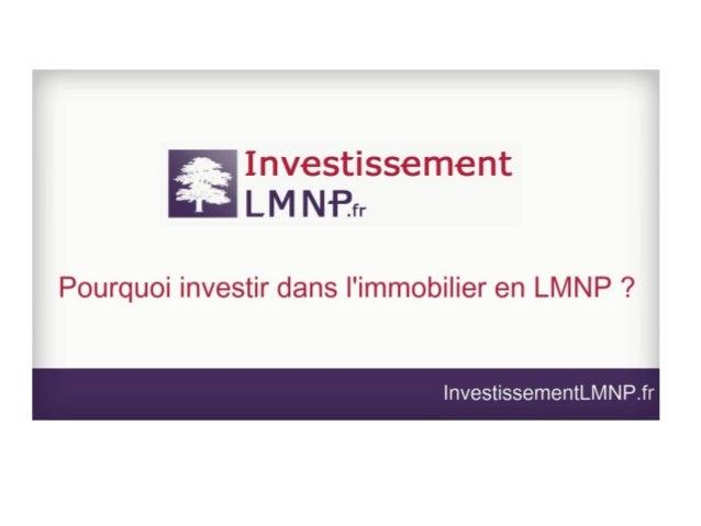LMNP : comprendre et investir dans la pierre avec le statut Loueur en Meublé Non Professionnel