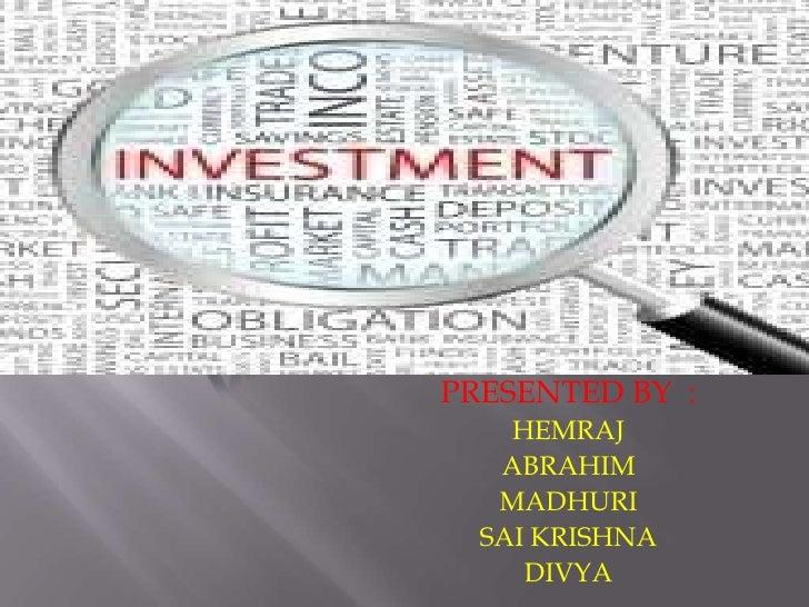PRESENTED BY :    HEMRAJ   ABRAHIM   MADHURI  SAI KRISHNA     DIVYA