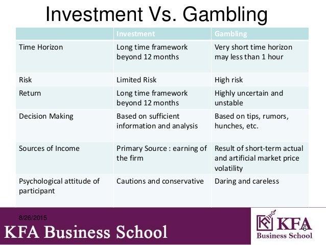 Risk speculation and gambling le grand casino de monte carlo