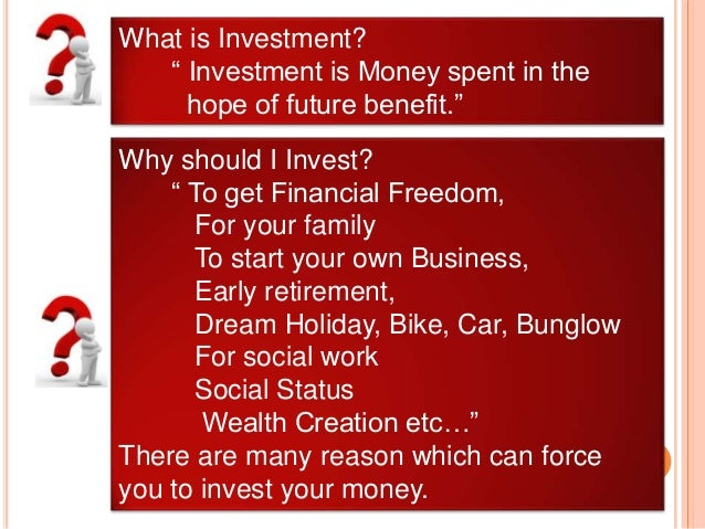 What is the best investment option today