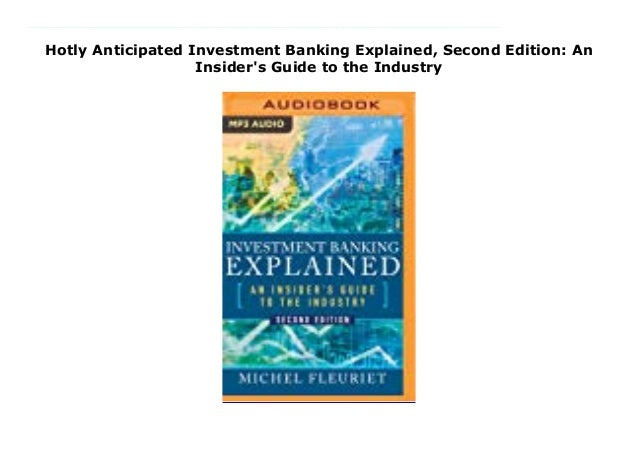 Investment banking explained michel fleuriet download jp morgan structured investments risks