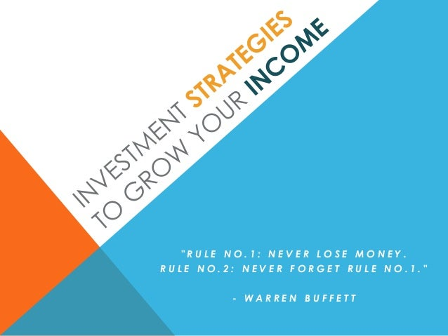 """RULE NO.1: NEVER LOSE MONEY.RULE NO.2: NEVER FORGET RULE NO.1.""         - WARREN BUFFETT"