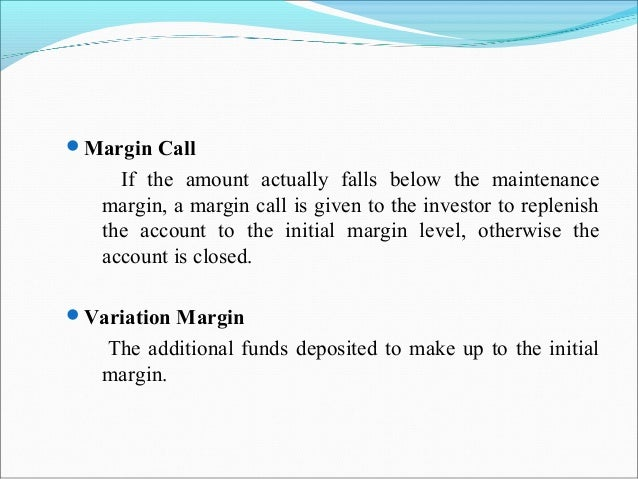 margin call calculator Investment Banking