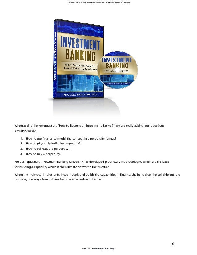 How to become an investment banker and what should I study ...
