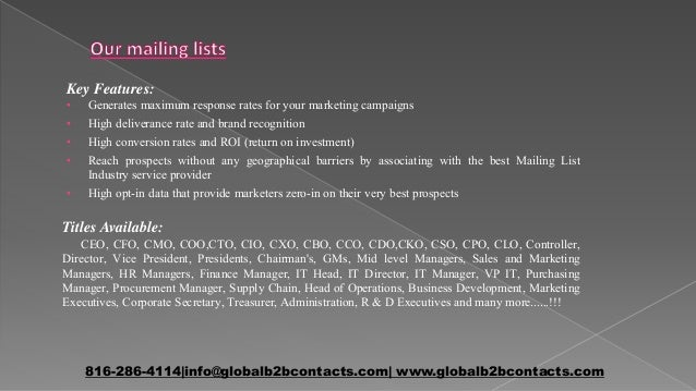 Investment banking email database