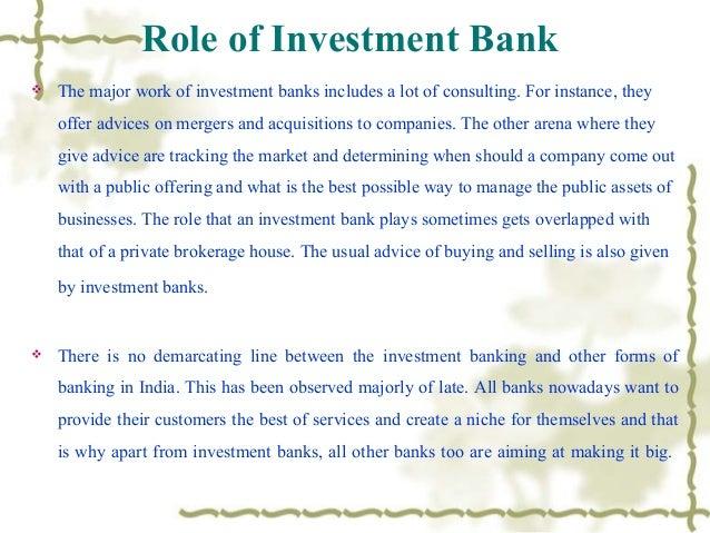 Investment Banking Presentation Idea