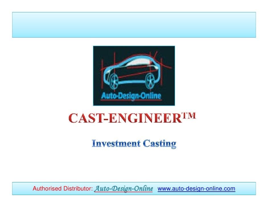 Authorised Distributor: Auto-Design-Online www.auto-design-online.com                        Auto-Design-