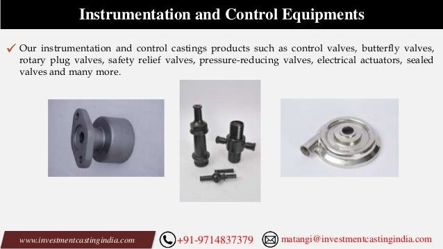 Investment Casting Manufacturing Products