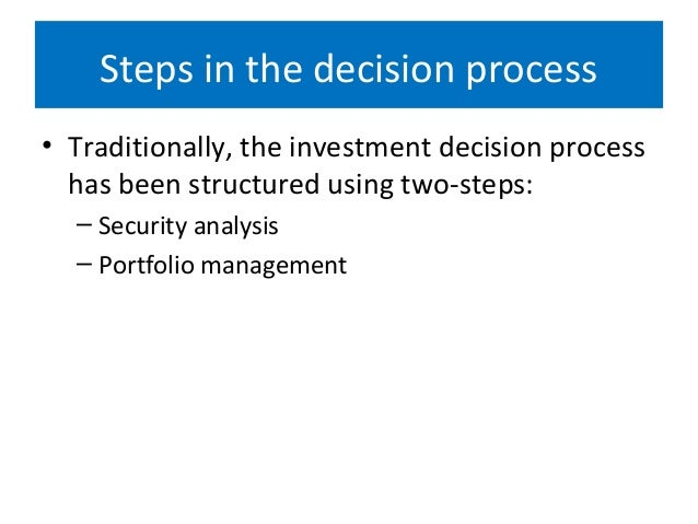 Investment decision process wikipedia en metatrader 4 gold download