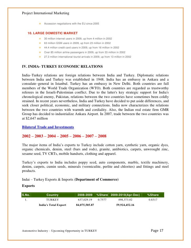 Investment in turkey turkey page 16 17 expocarfo
