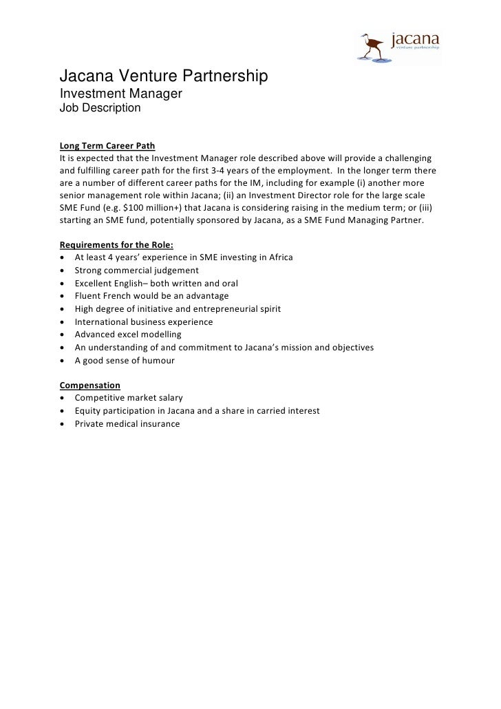 Ups Sample Resume Ups Resume For Investment Manager Package