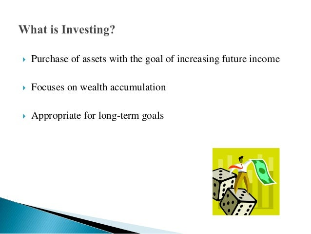 Investment meaning nature