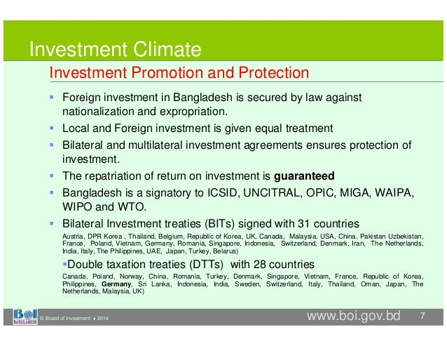 Minimum standard of treatment investment law of bangladesh chris loger pioneer investments