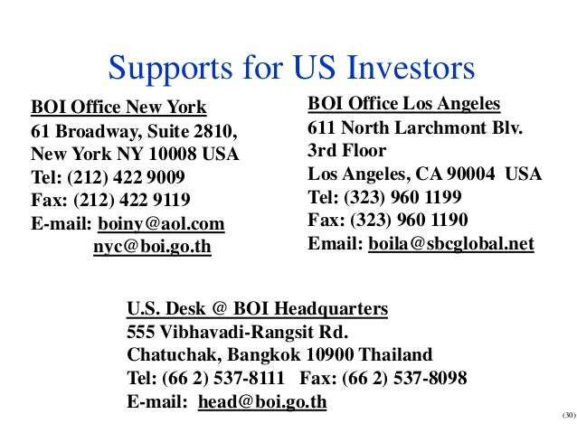 Investment opportunities in thailand for biotech business for 1633 broadway 3rd floor new york ny 10019