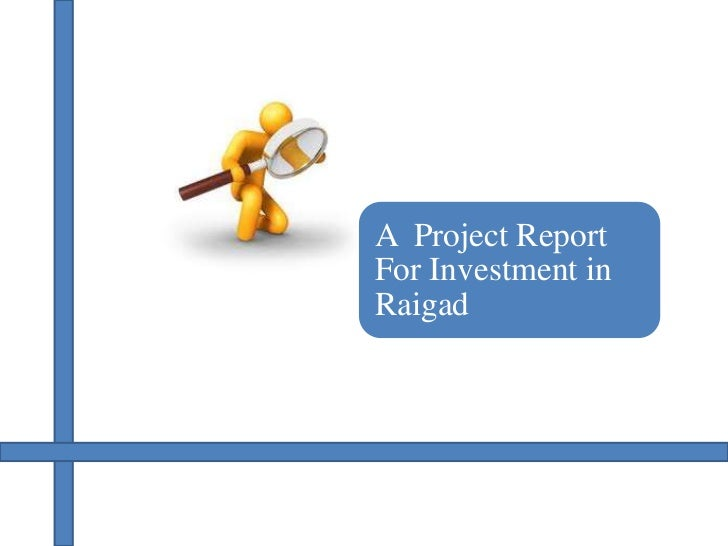 A Project ReportFor Investment inRaigad