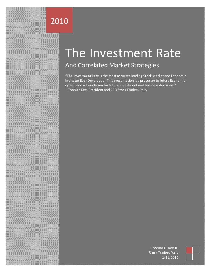 Investment rate