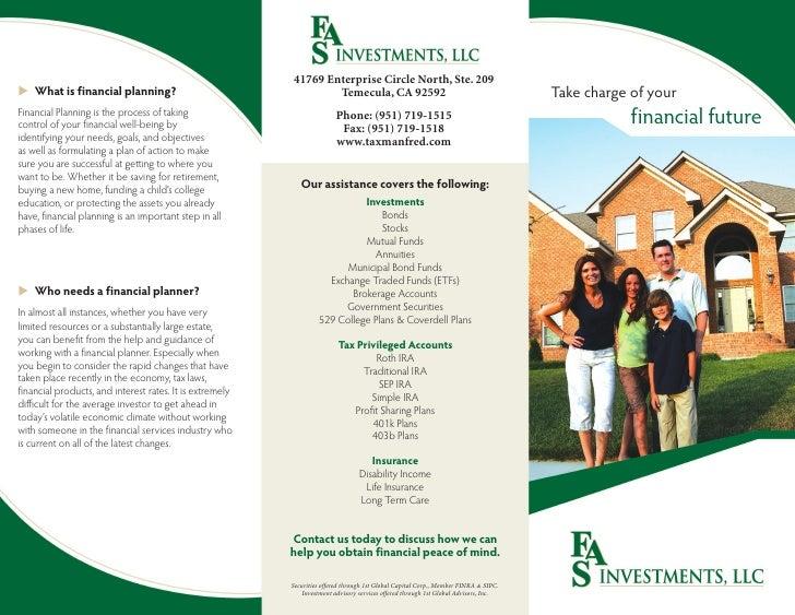 41769 Enterprise Circle North, Ste. 209 u What is financial planning?                                     Temecula, CA 925...
